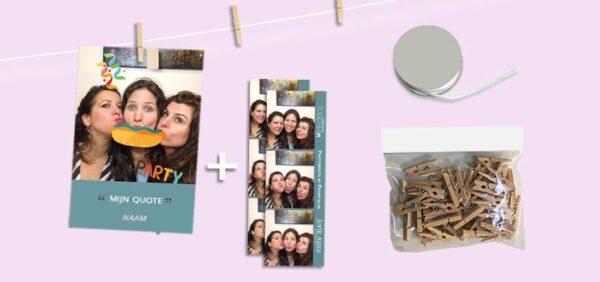 Upgrade - fotoslinger pakket