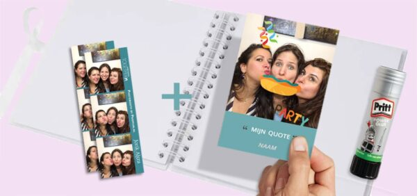 Upgrade - gastenboek pakket