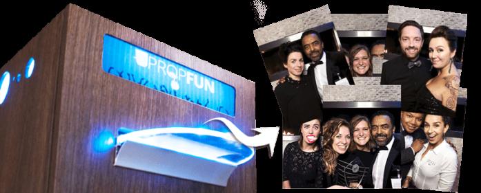 Propfun photobooth - onbeperkt aantal prints