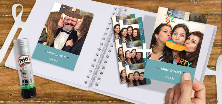 Propfun photobooth - Quote cards